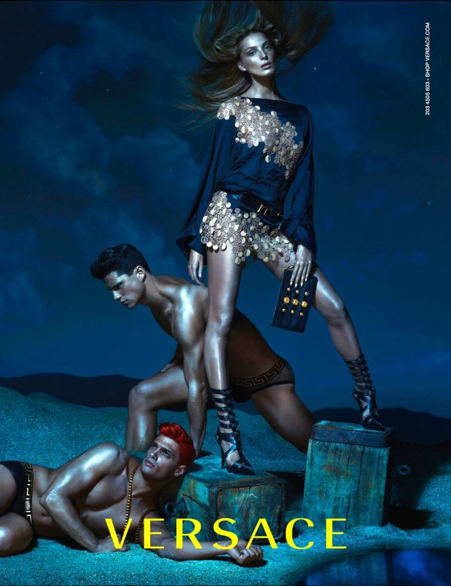 Versace Campaign SS 2013 #FASHIONADS