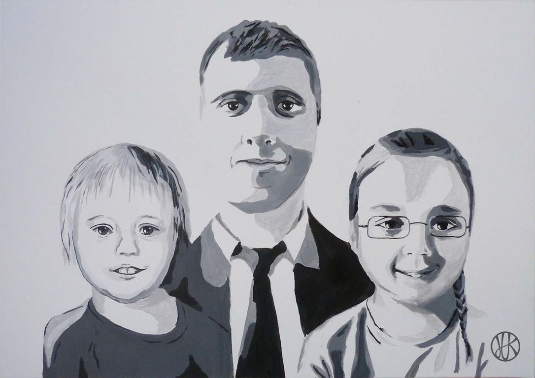 Painting Family #paint #painting #family #popart