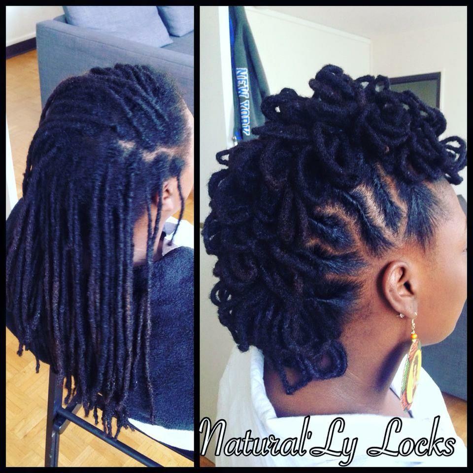 Loc Petals Faux Hawk Locs Hair Styles Locs Dreadlock