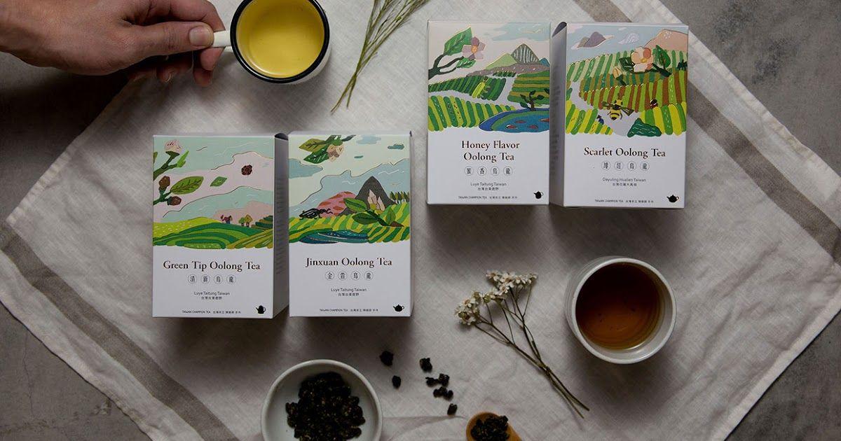 FongCha Tea (With images) Tea packaging design, Tea