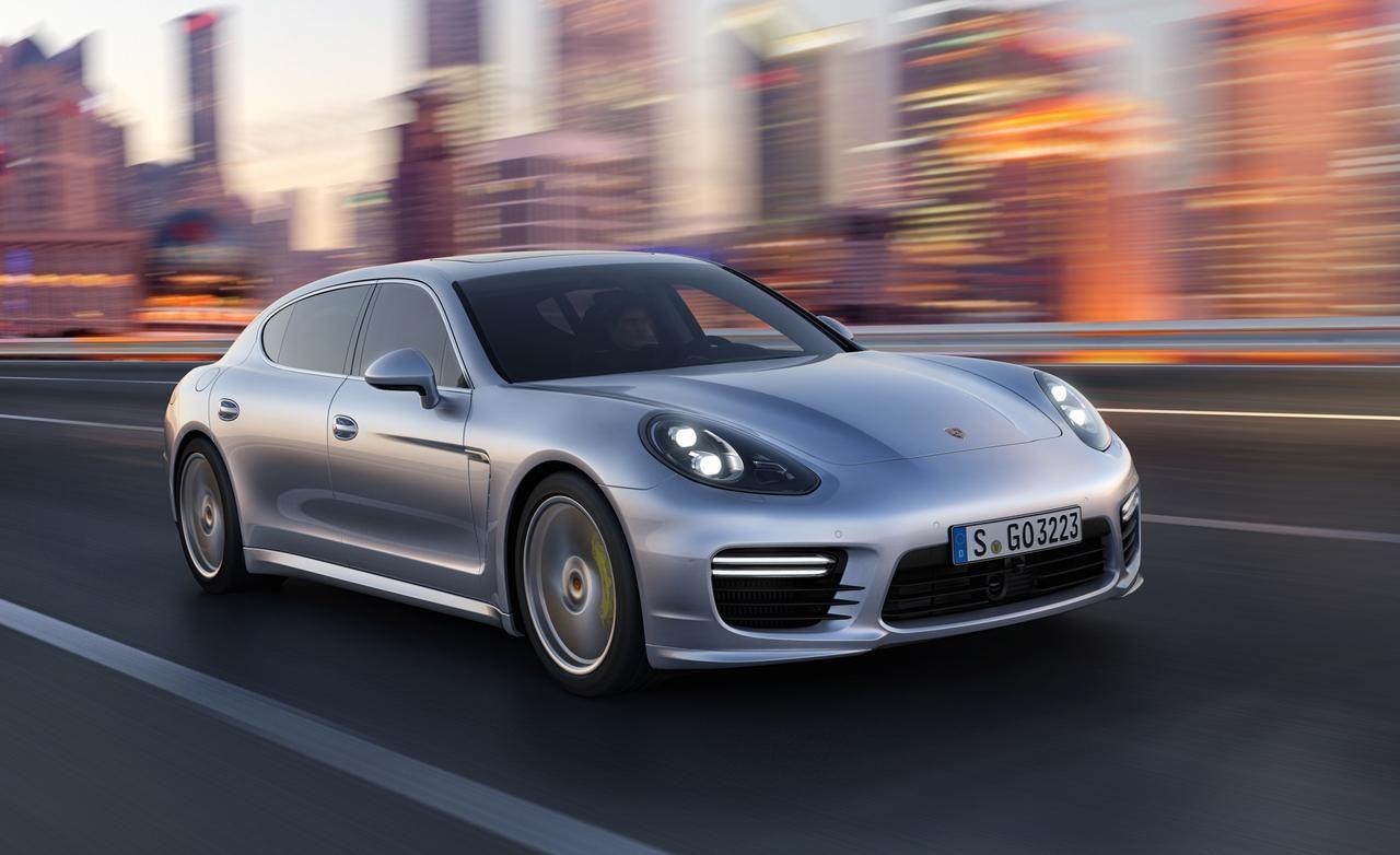 2014 Porsche Panamera Turbo S Executive Speed Front Widescreen Wallpaper