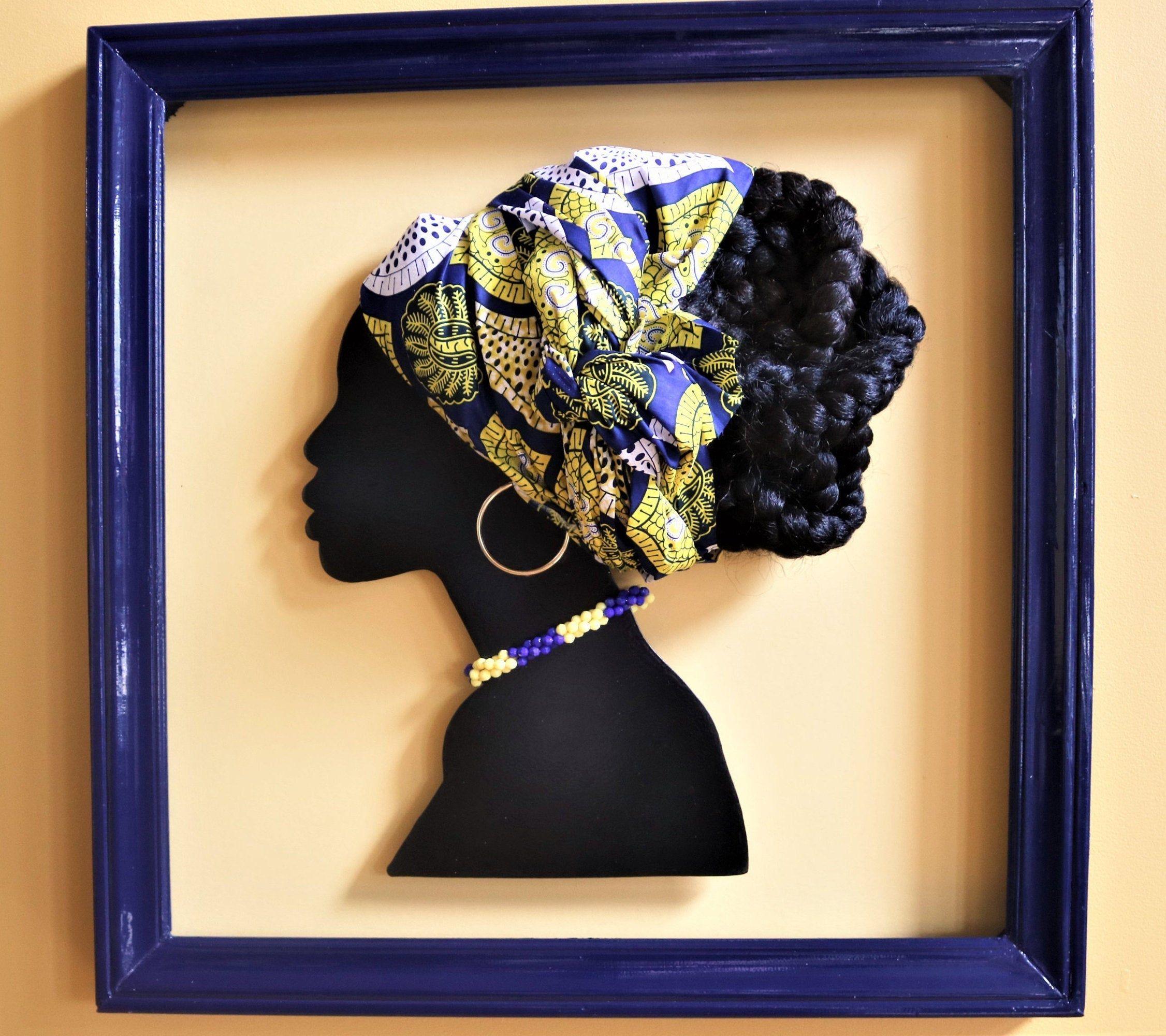 African art 3d african art black history african wall art