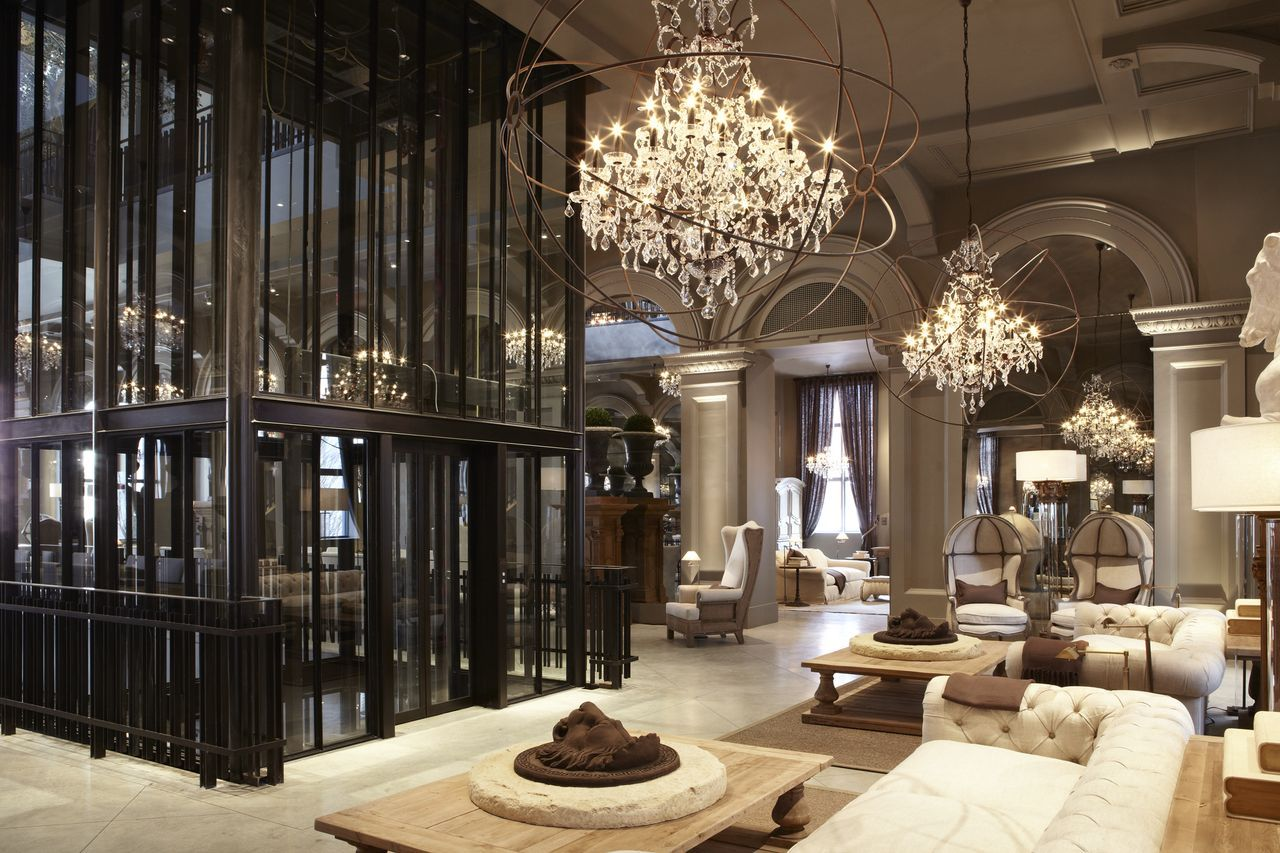 Restoration Hardware Flagship Store At The Boston Museum Of Natural History
