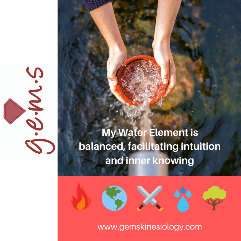 Water Element Affirmations in 2020 Water element