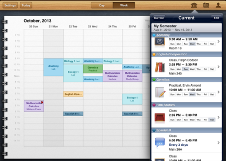 Track classes, assignments, and grades easily College