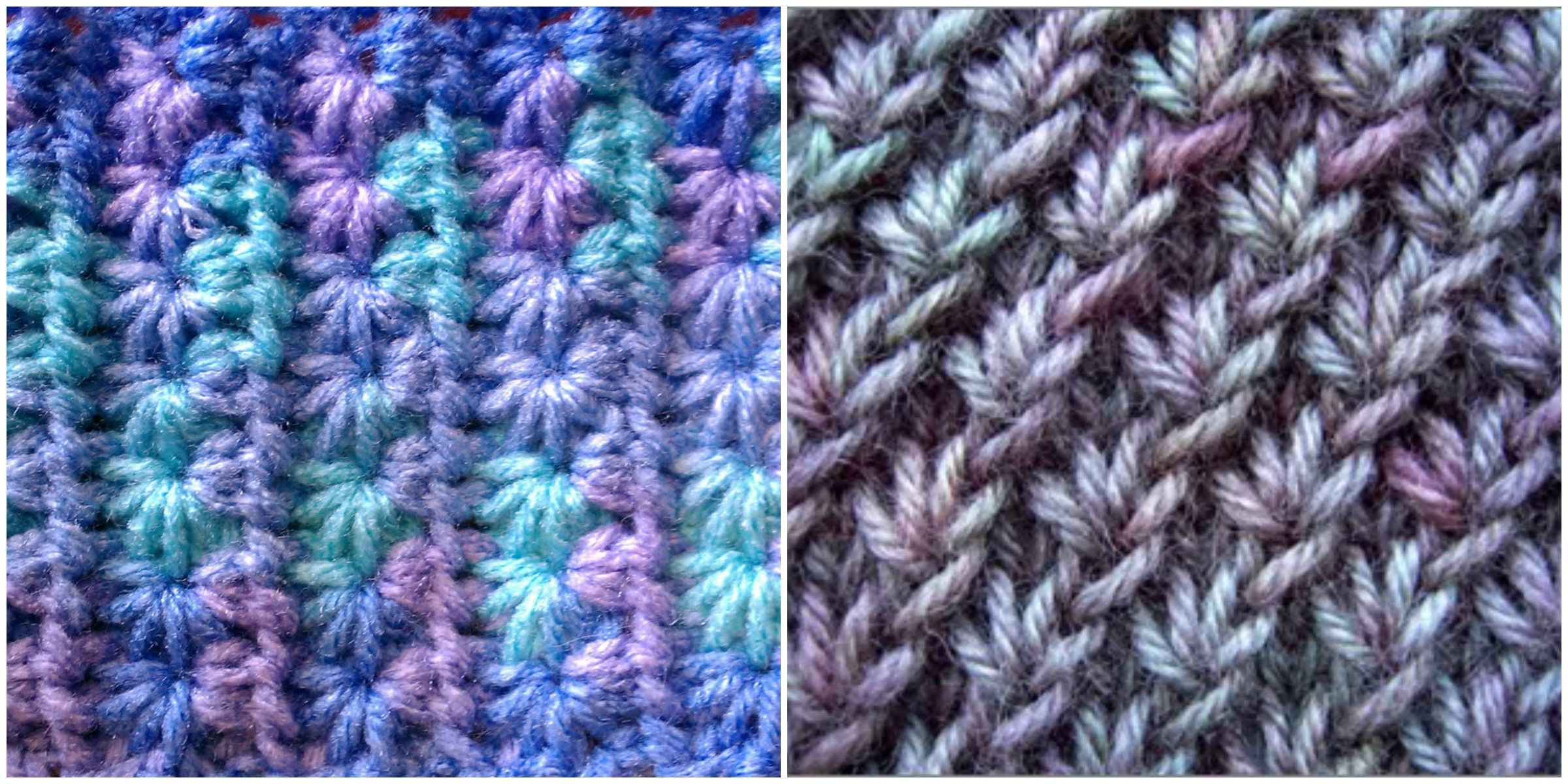 How To Knit the Star Stitch