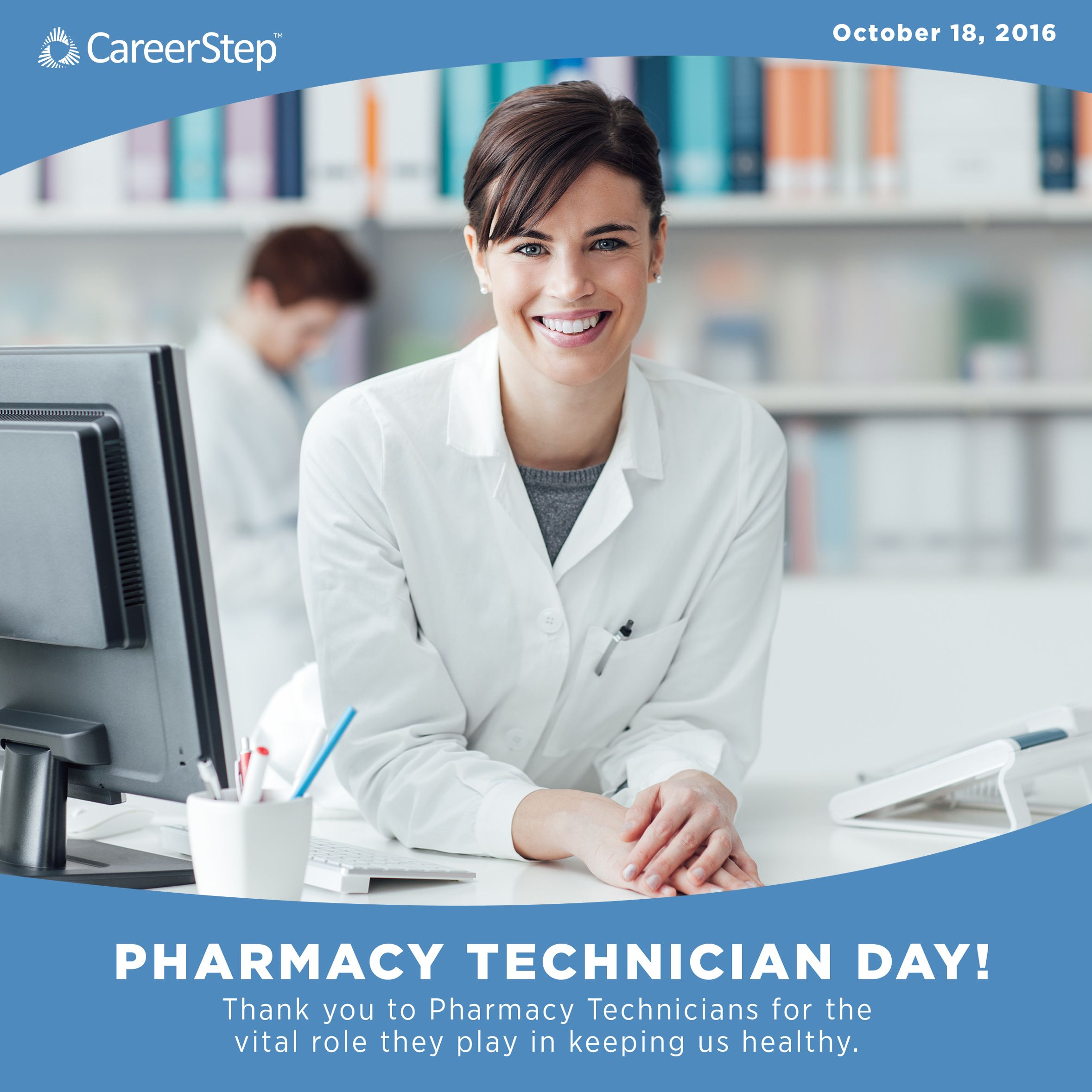 National Pharmacy Technician Day is October 18th! Join us