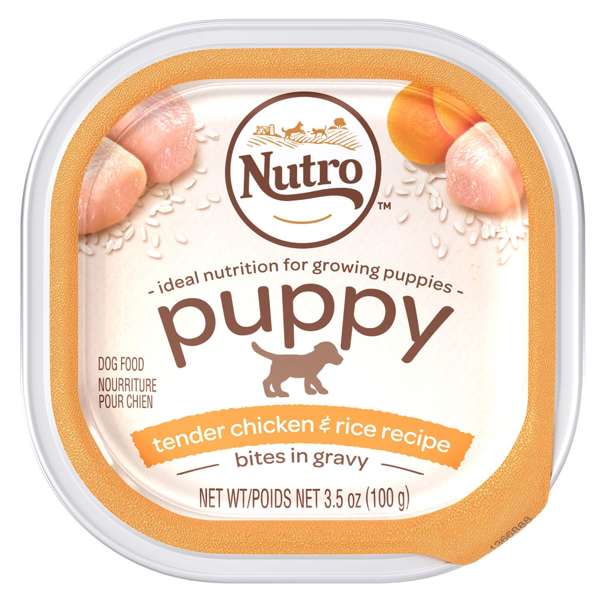 Nutro Puppy Food - Natural, Tender Chicken & Rice