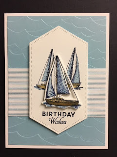 Sailing Home, Butterfly Wishes, Masculine Birthday Card