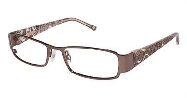 7c73727680c6 BEBE Eyeglasses BB5012 003 Smoked Topaz 51MM bebe.  108.00 Designer Glasses  Frames
