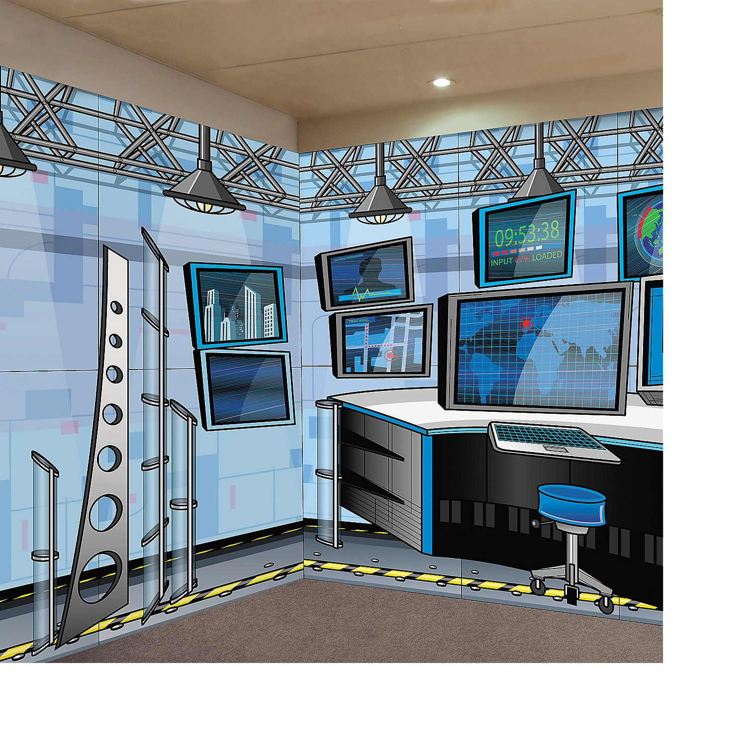 VBS Design-A-Room Agents of Truth Set, Backdrops & Scene Setters ...