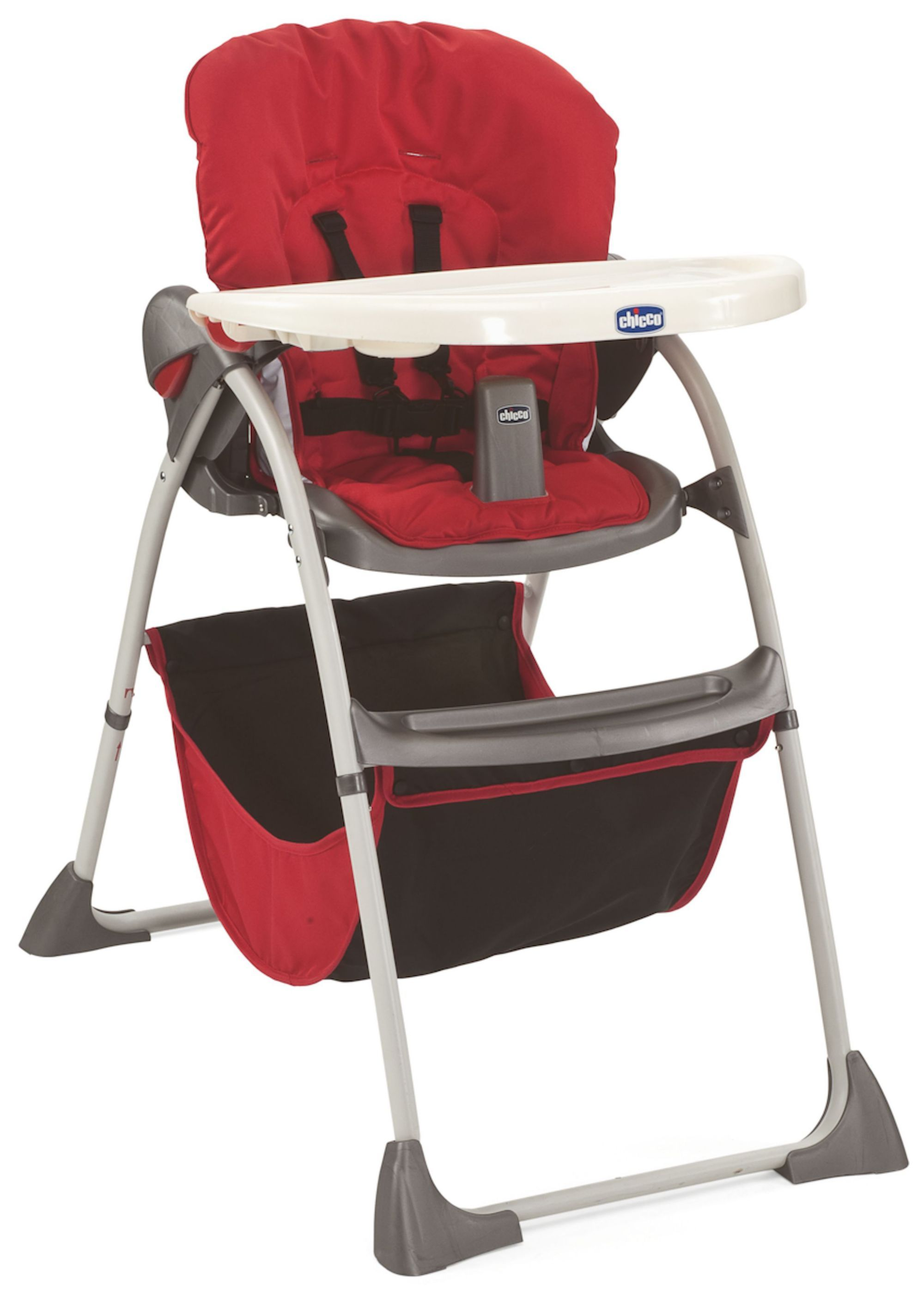 Chicco Happy Snack Highchair Red High Chair Kids Hanging