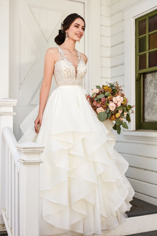 f1d7dac9a3a Princess Wedding Gown. Charli + Stevie  Sophisticated Princess Wedding  Dress Separates by Martina Liana