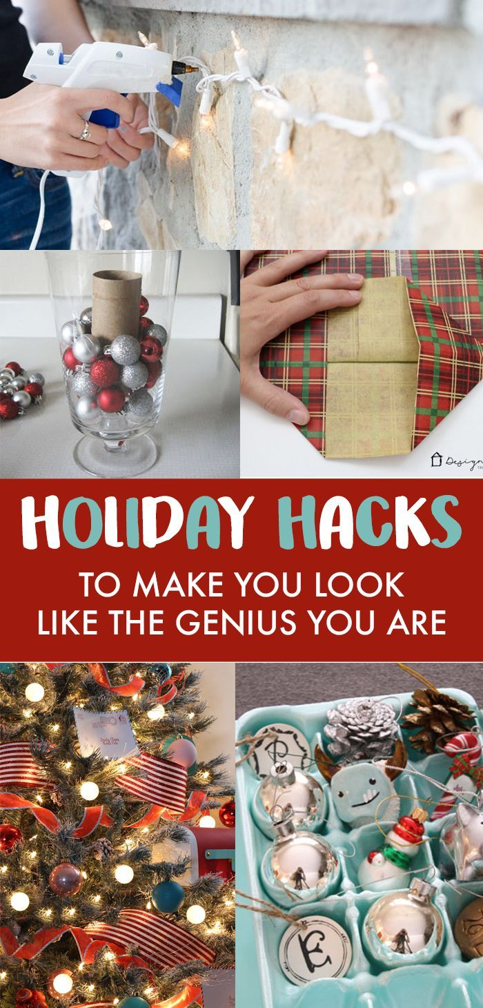 9 Holiday Hacks To Make You Look Like The Genius You Are -   15 holiday Hacks food ideas