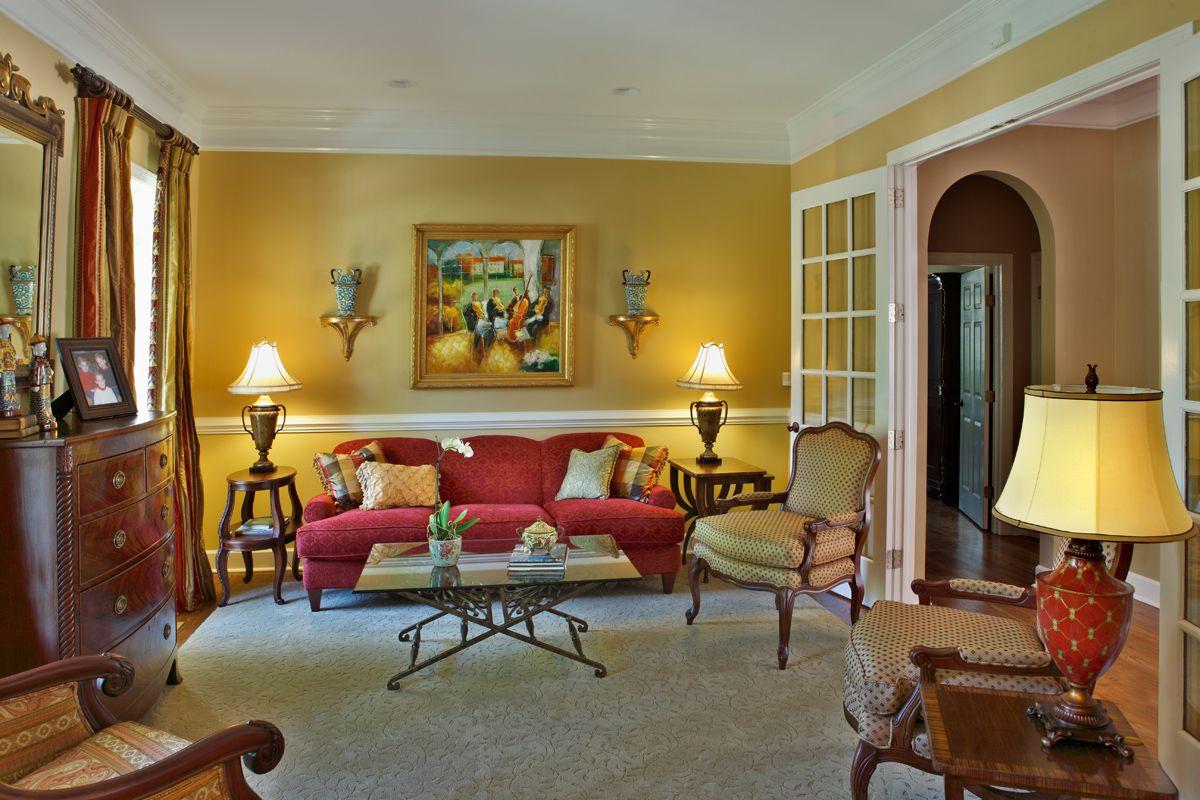 Exceptional Valerie Garrett Interior Design. Macon, GA. Living Room.