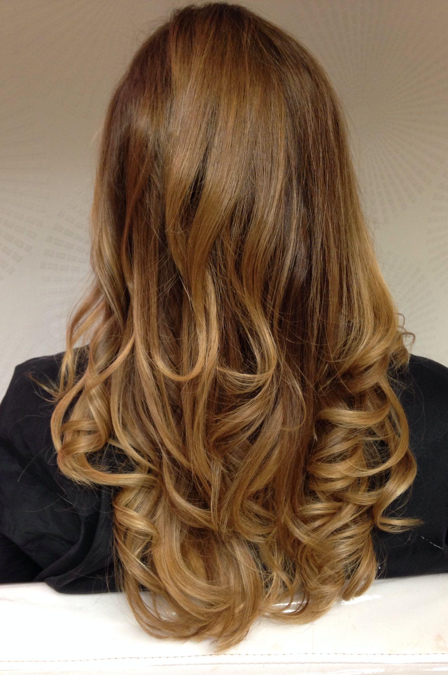 Dark blonde hair color melt phillip rego studio done by me me