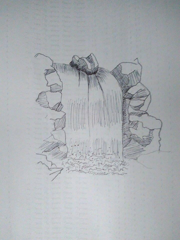 Line Drawing Waterfall : Best waterfall drawing ideas on pinterest
