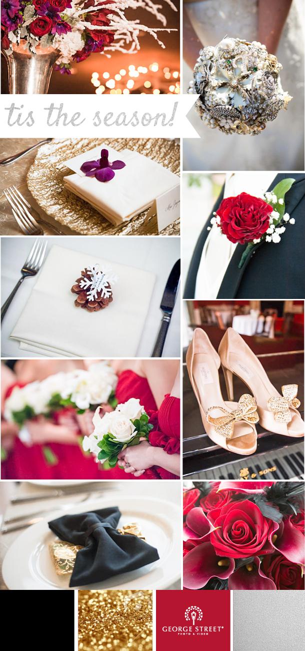 Holiday Wedding Color Scheme Wedding colors, Cranberry
