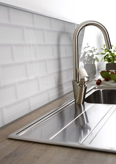 Credence Cuisine En 47 Photos Idees Conseils Inspirations Carrelage Metro Blanc Credence Cuisine Et Credence Verre
