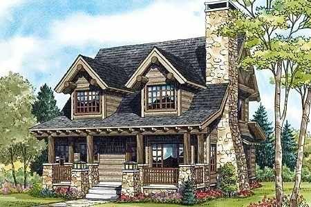 Log Cabin Floor Plan Designs . . . Little Architectural Jewels!