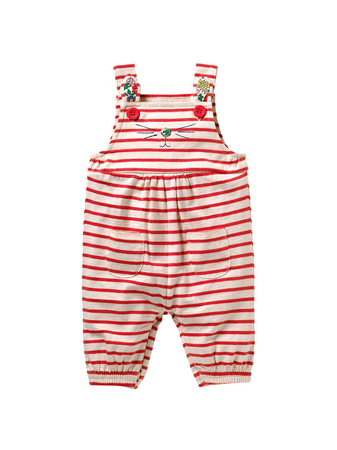 835d34195 BuyMini Boden Baby Stripe Cat Dungarees