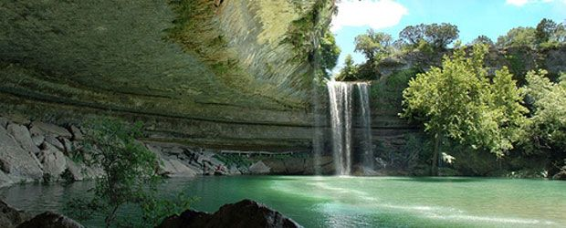 Amazing World Online Hamilton Pool Natural Preserve Near Austin Texas Is A That Was Created When The Dome Of