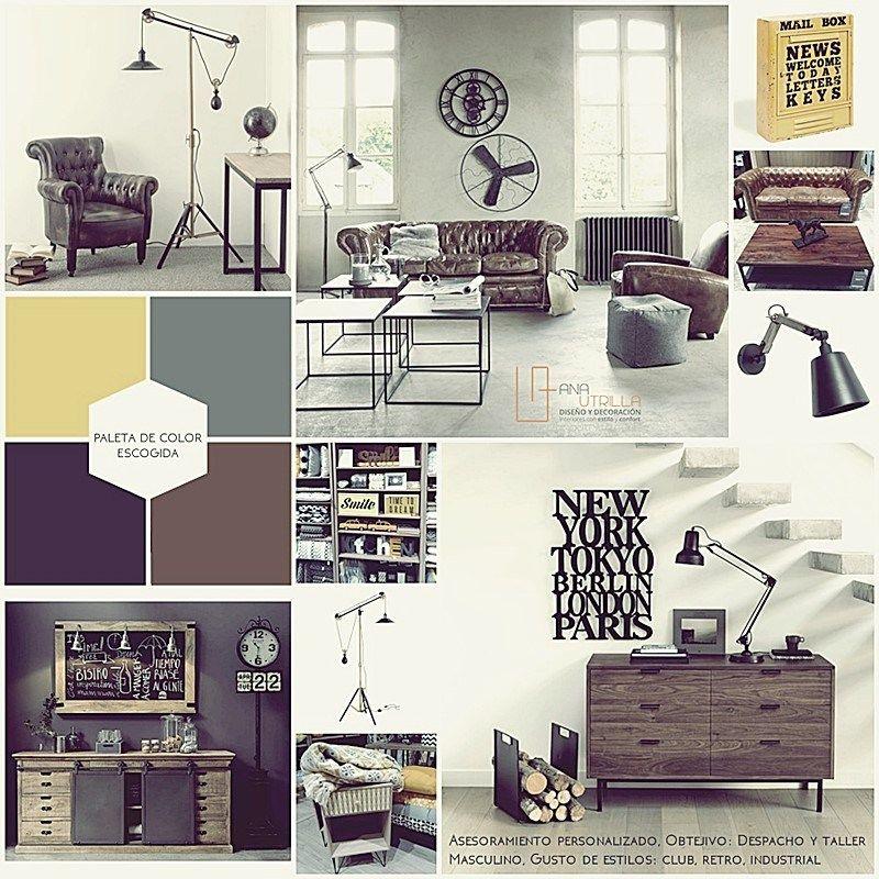Coaching deco por ana utrilla moodboard para presentar el proyecto de decoraci n ana utrilla - Proyecto de decoracion de interiores ...