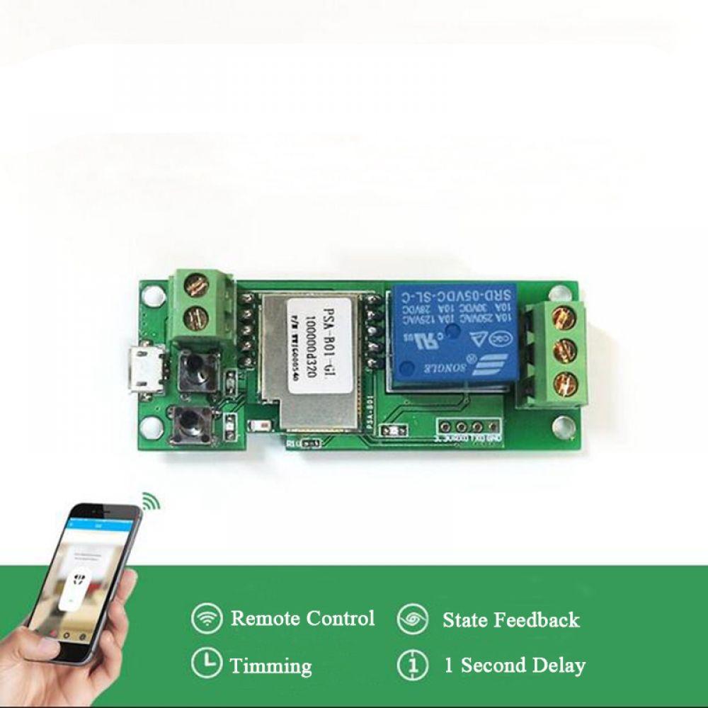5V Jog / SelfLocking Switch Phone App Remote Control