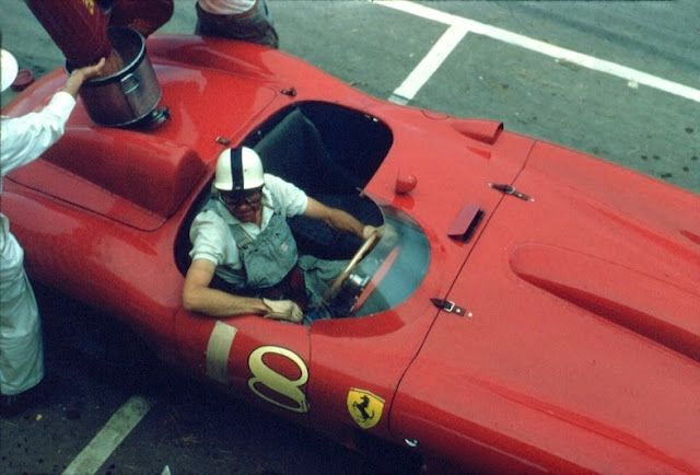 Carroll Shelby na Ferrari