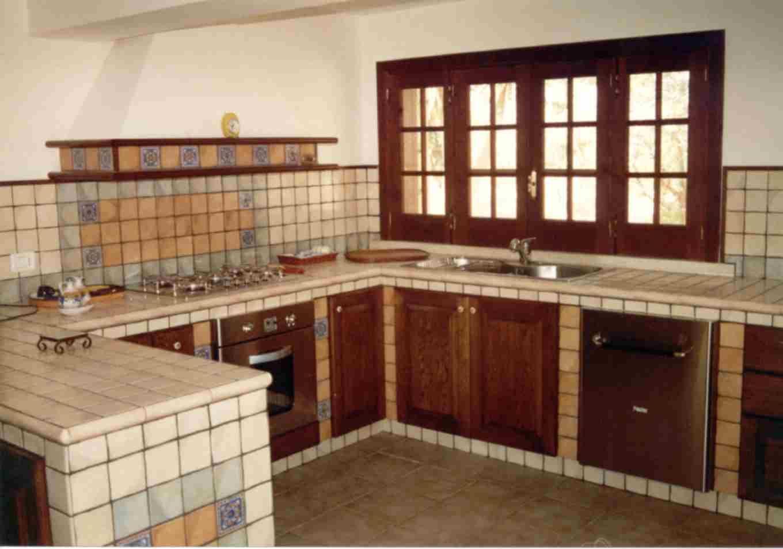 116-cucine-in-muratura-create-da-noi10-1339515509.jpg (1360×954 ... - Cucina In Muratura Con Penisola