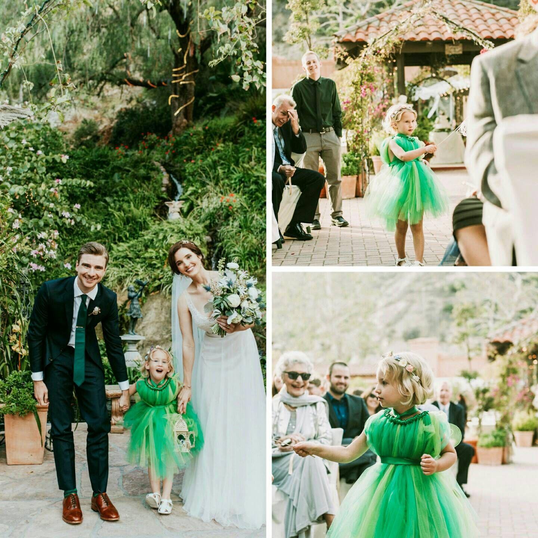 Beautiful Peter Pan themed wedding in Laguna Beach, with a precious ...