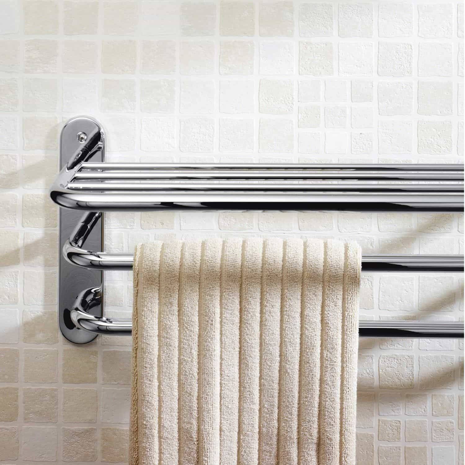 Standard Height Of A Towel Rack In Your Bathroom Towel Rack Bathroom Towel Rack Bathroom Towel Bar