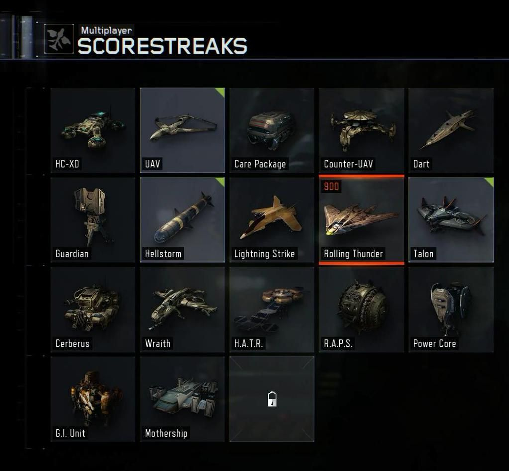 Some of the new scorestreaks at Black Ops 3.
