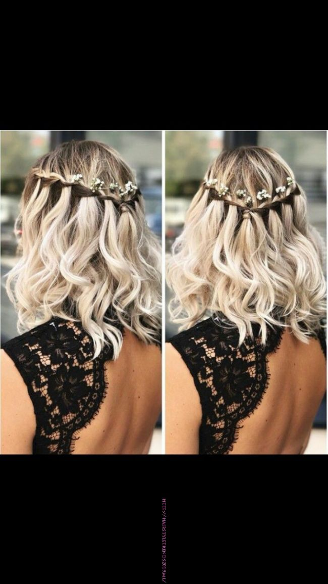 Pin By Jessica Zywicki On Prom In 2019 Pinterest Prom Hairstyles For Short Hair Prom Hair And Bridesmaid Hair Prom Hairstyles For Short Hair Engagement Hairstyles Medium Length Hair Styles