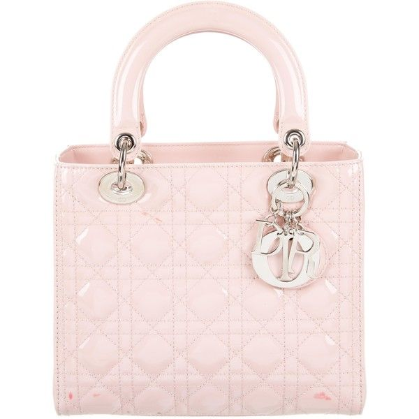 Dior Pre-owned - Lady Dior patent leather handbag ZhzyUKXTqh