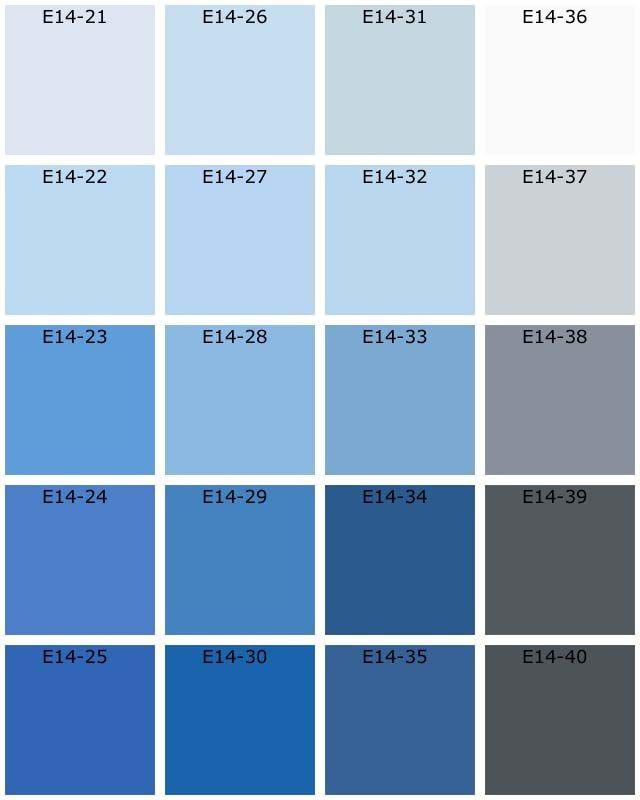 Nuanciers Tassili Natura Les Bleus Nuancier Bleu Peinture Bleu Gris Peinture Grise