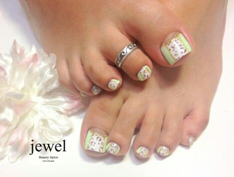 Toes nail art by jewel