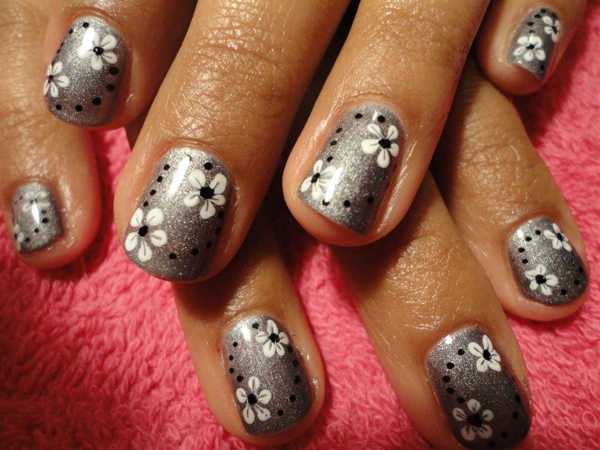 MV Nails Gelish - Nail Art Gallery | Nail art | Pinterest | Gelish ...