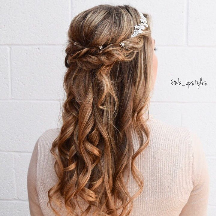 Partial Updo Wedding Hairstyles - Fab Mood