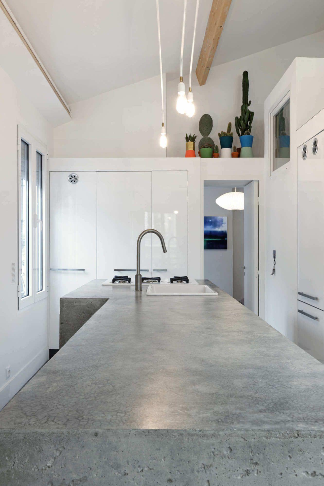 Una mansarda di stile a Parigi Appartamenti loft, Loft