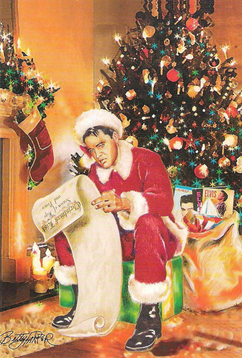 ELVIS, CHRISTMAS WITH   Elvis   Pinterest   Elvis Presley, Elvis ...
