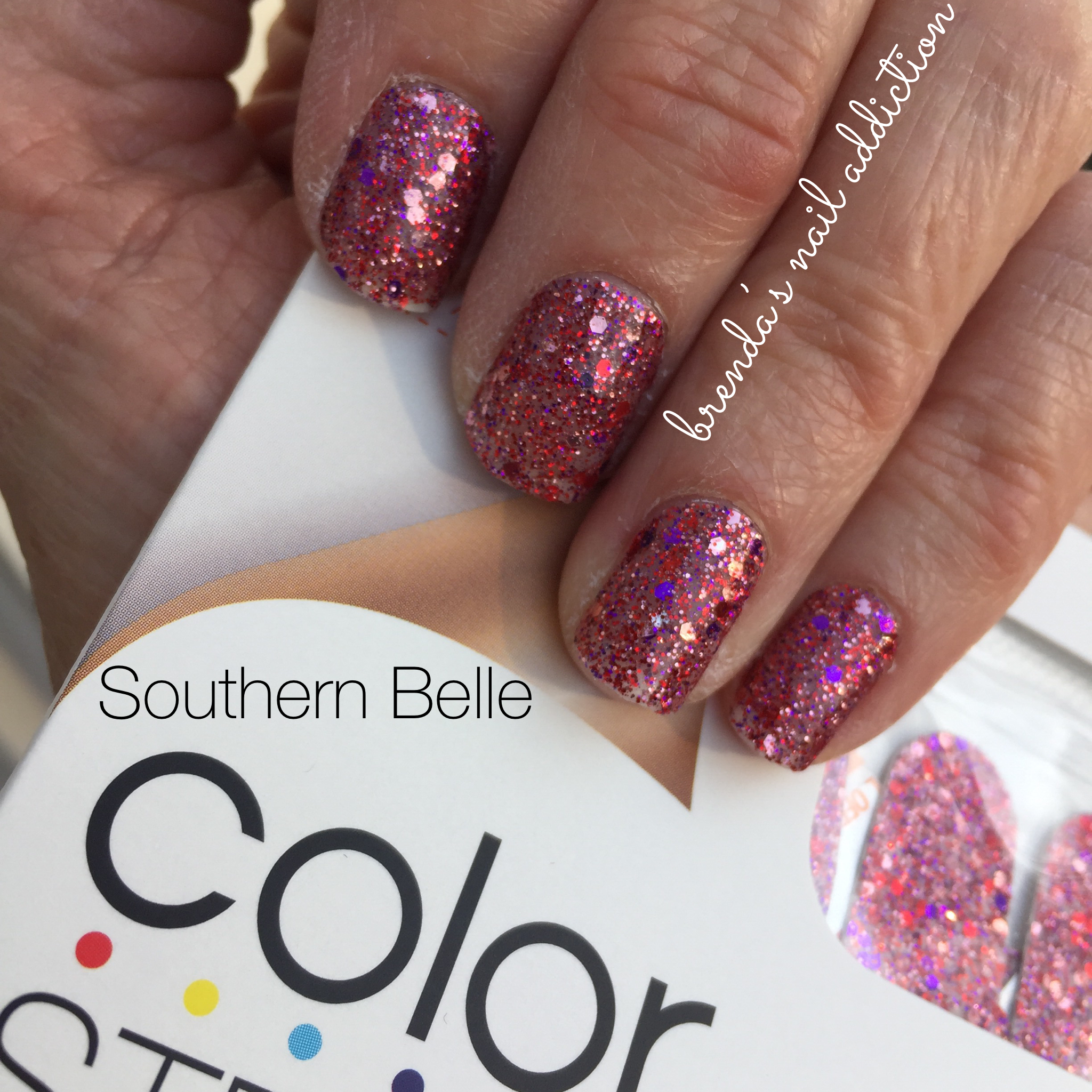 Color Street Southern Belle | Color Street ~ My Addiction ...
