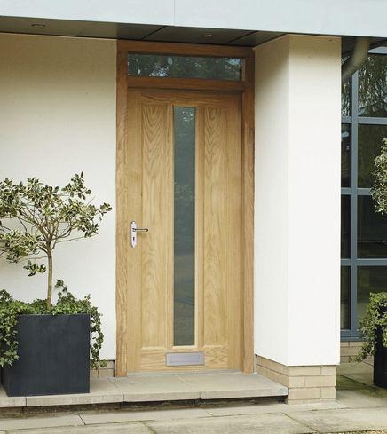 External Worcester Oak glazed door | Villa Garden Design | Pinterest ...