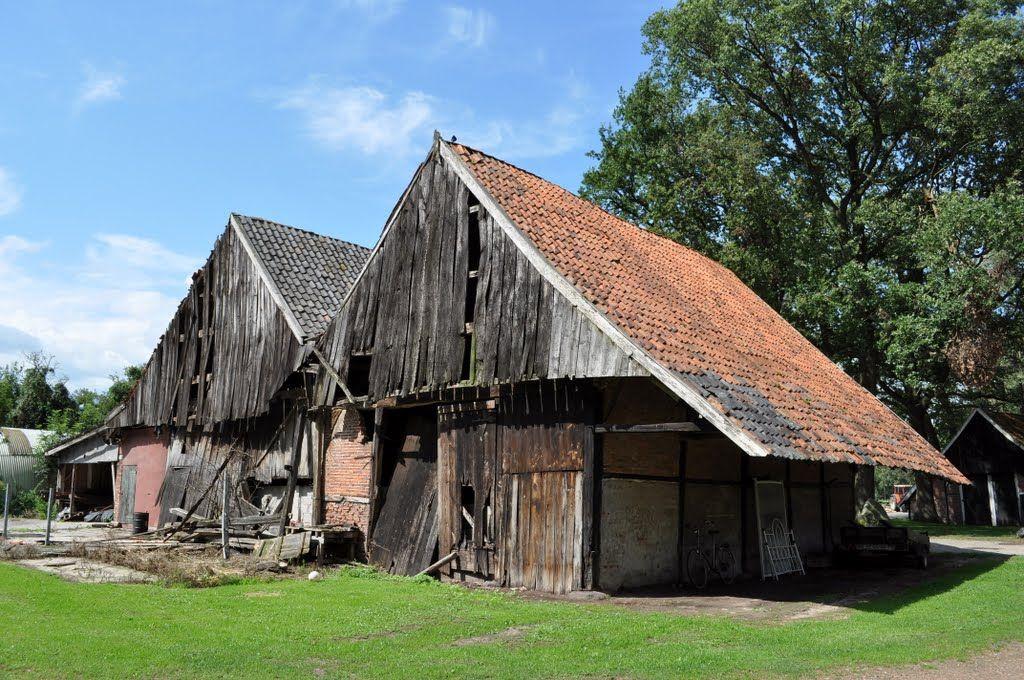 Woold bij Winterswijk, Erve Roerdink, schoppe uit 1550 vóór restauratie