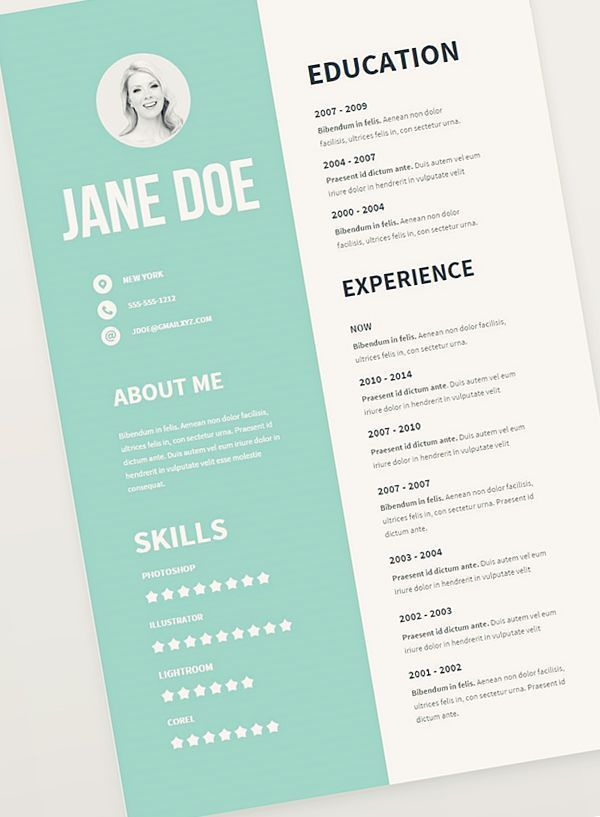 Free #Resume #Template Pack Resumes skills section Pinterest