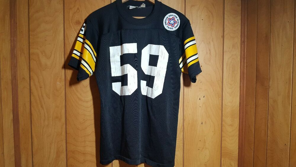 newest 7bce7 a42d5 Vintage Jack Ham #59 Pittsburgh Steelers Jersey 70's ...