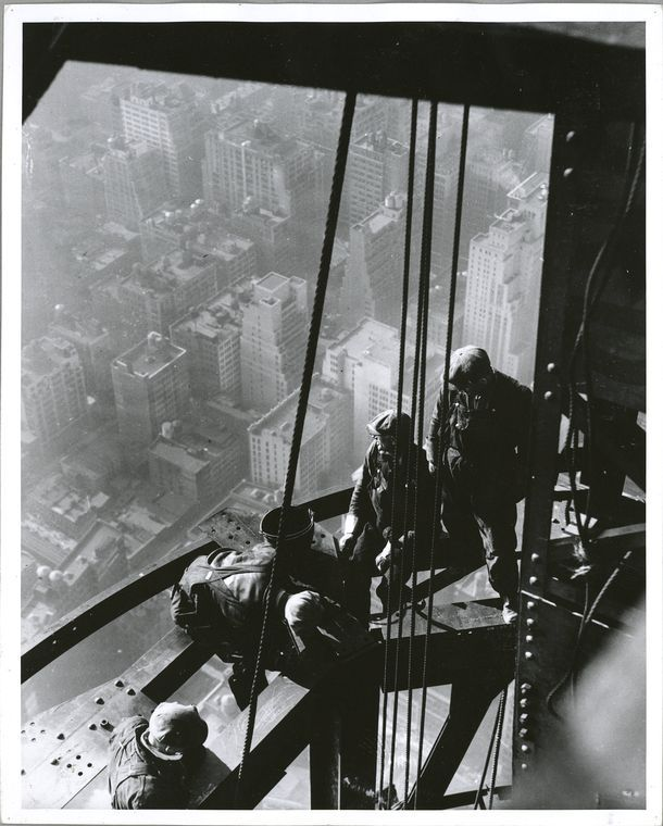 24 Jaw Dropping Photos Of The Construction Empire State Building
