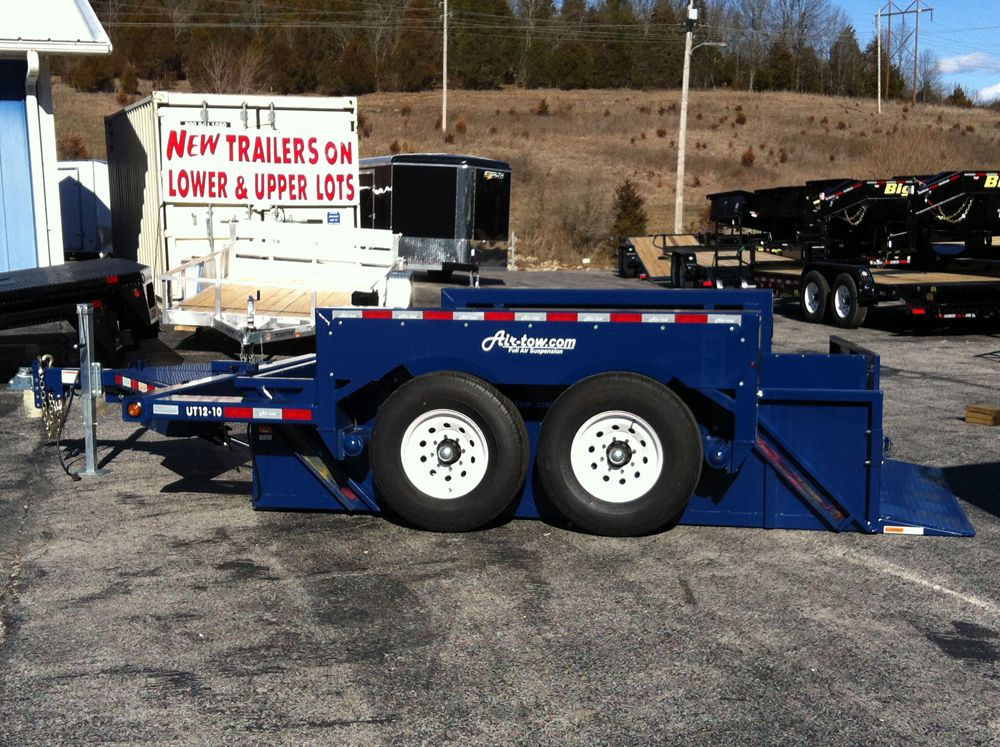 12' 2018 AirTow RUT1210 Utility side view Monster