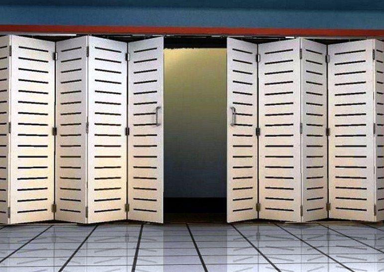 25+ model desain pintu besi minimalis modern (lipat ...