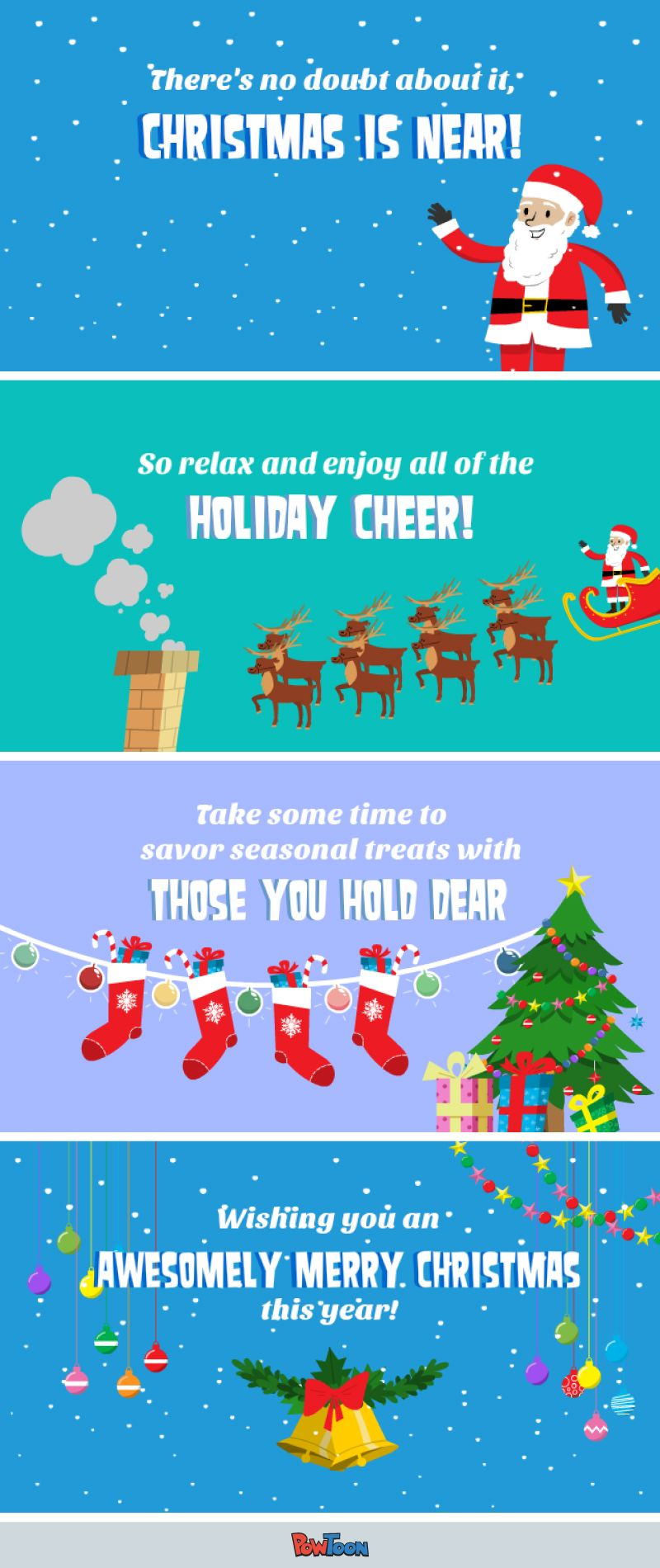 Celebrate The Season Send This Animated Christmas Card To Friends